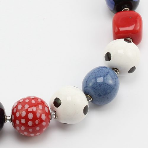 Fairer Schmuck aus Keramik – Mari&Tim-Halskette