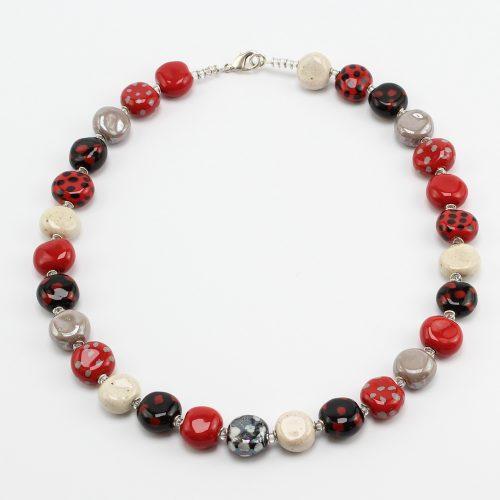 Fairer Schmuck aus Keramik – Darling-Halskette