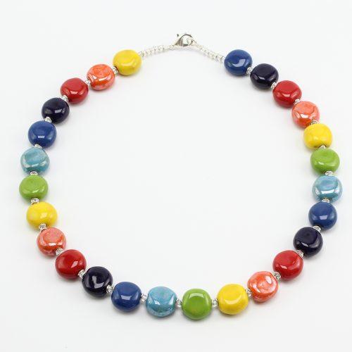 steinfarben-Shop - Halskette Junges Gemüse