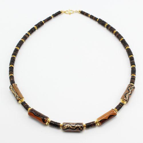 Fairer Schmuck aus Keramik – Edelbitter-Halskette