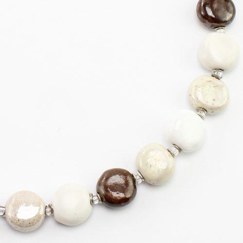 steinfarben-Shop - Halskette Mokka