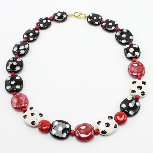 steinfarben-Shop - Halskette Käfer&Co
