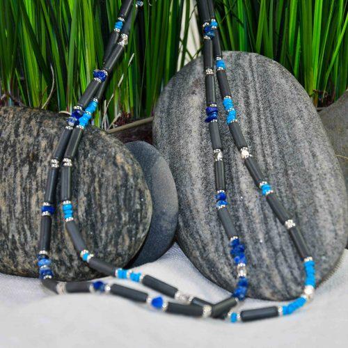 Kette mit Fair Trade Steinsplittern