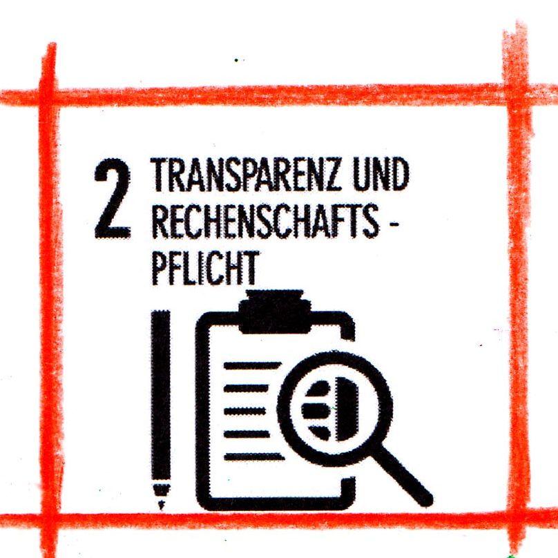 Transparenz und Rechenschaftspflicht